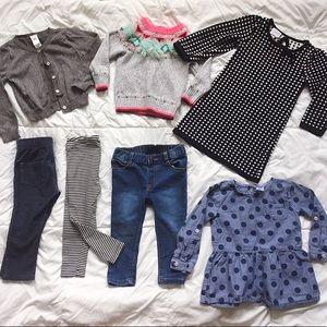 Toddler Girl Bundle of Clothes Size 18 mo - 24 mo